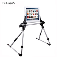SCOMAS Universal Tablet Stand Portable Tablet Bed Frame Holder Stand For IPad 1 2 3 4