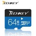 100% cartão de memória cartão micro sd 32 gb 16 gb azul genuíno TF cartão Microsd class10 passar h2test Flash disco de U para smartphones
