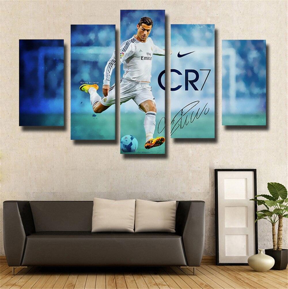 popular canvas football art buy cheap canvas football art lots canvas painting 5 piece canvas art football print painting modern canvas wall art for wall decor