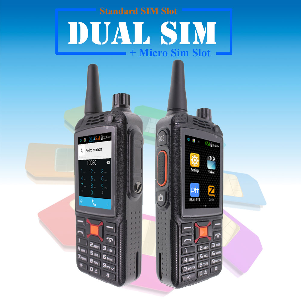 Image 2 - 3G Android Walkie Talkie G22 Plus Poc network Phone Radio Intercom Rugged Smart phone Zello REAL PTT Radio F22 Plus-in Walkie Talkie from Cellphones & Telecommunications