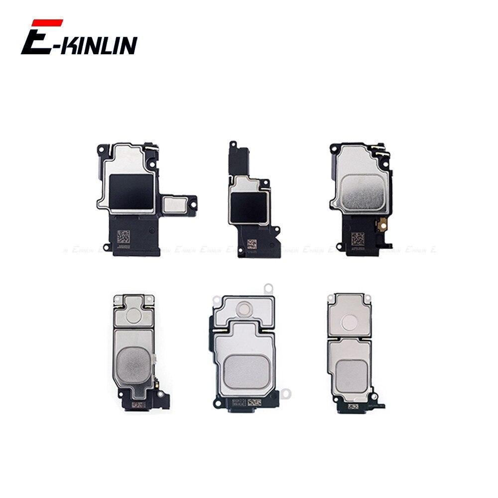 Rear Buzzer Ringer Module For IPhone 4 4S 5 5S SE 5C 6 6S 7 8 Plus X Loud Speaker Replacement Spare Parts