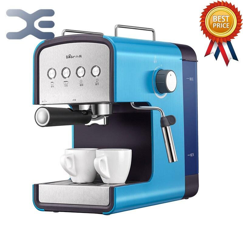 Coffee Machine 220V Espresso Machine Coffee Maker High Quality Home Appliances Semi-automatic 1.2L недорго, оригинальная цена