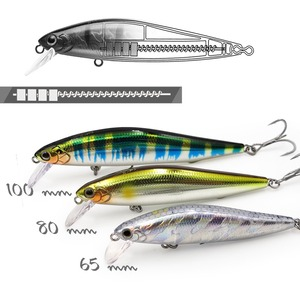 EWE Branded trout lure 65/80/100mm 7/10/14g AR-Cjerkbait slow sinking minnow artificial bait for trout bass fishing