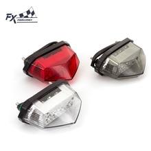12 В FX Универсальный мотоцикл задний фонарь заездов светодиодные стоп Сигнальные лампы мотоцикл свет для Honda Yamaha Suzuki Kawasaki Aprilia KTM