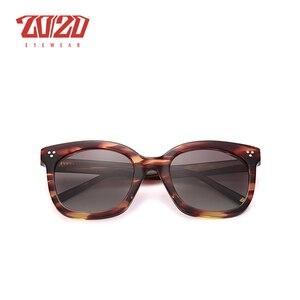 Image 4 - 20/20 Brand Fashion Gepolariseerde Zonnebril Vrouwen Mannen Acetaat Klassieke Zonnebril Rijden Unisex Eyewear Oculos AT8048