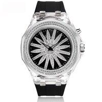 FUYIJIA Новые Красивые водонепроницаемые женские часы кварцевые часы дамы силиконовый браслет часы лучший бренд класса люкс для девочек часы