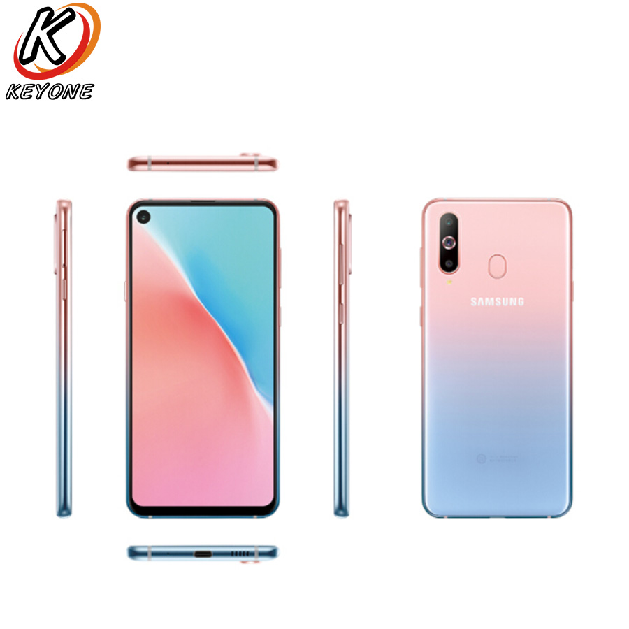"Brand New Samsung Galaxy A8s SM-G8870 4GLTE Mobile Phone 6.4"" 6GB RAM 128GB ROM Octa Core Snapdragon 710 Four Camera NFC Phone"