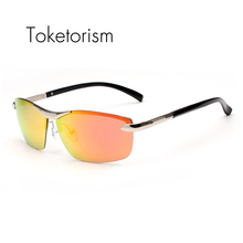 Toketorism 2017 polarized driving sunglasses fashion goggles sunglass for men women 982A