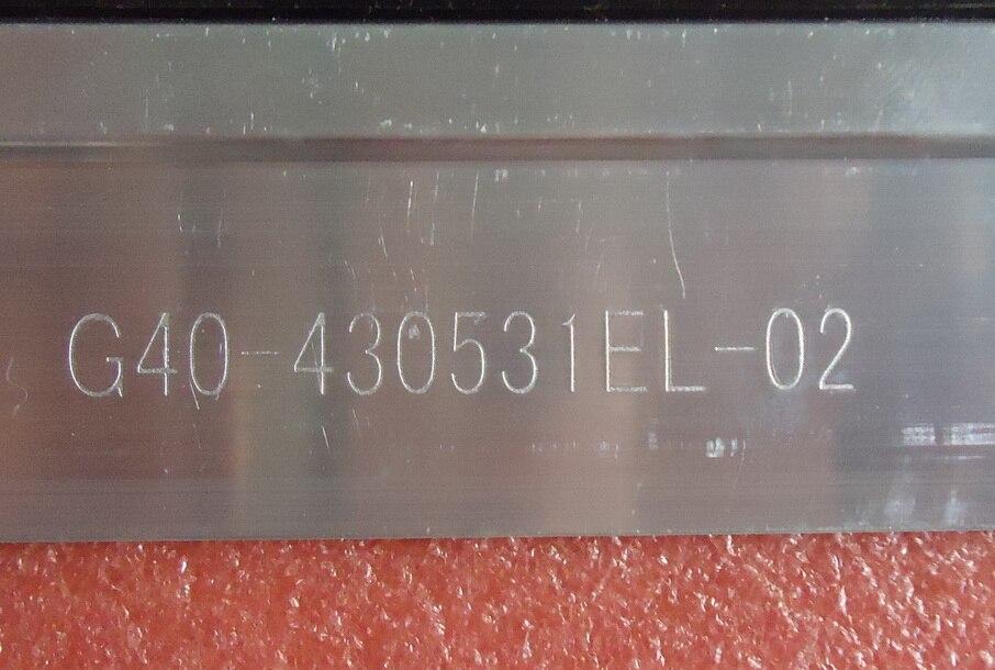 FOR TCL  L43F3200E LED Article lamp G40-430531EL-02 6030PKG 52E0 REV0.3 1piece=52LED 462MM for tcl l40f3200b article lamp 40 down lj64 03029a lta400hm13 screen 1piece 60led 455mm 2pieces lot