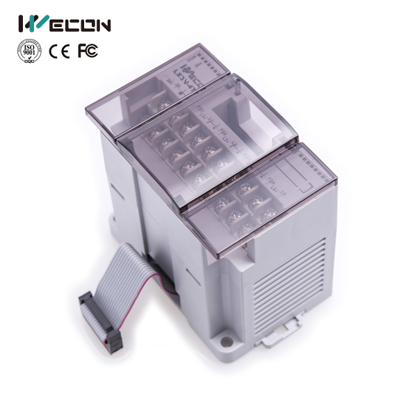 Wecon LX3V-4AD plc module for digital to analog om zfv sc90 140605 industry industrial use automation plc module p v