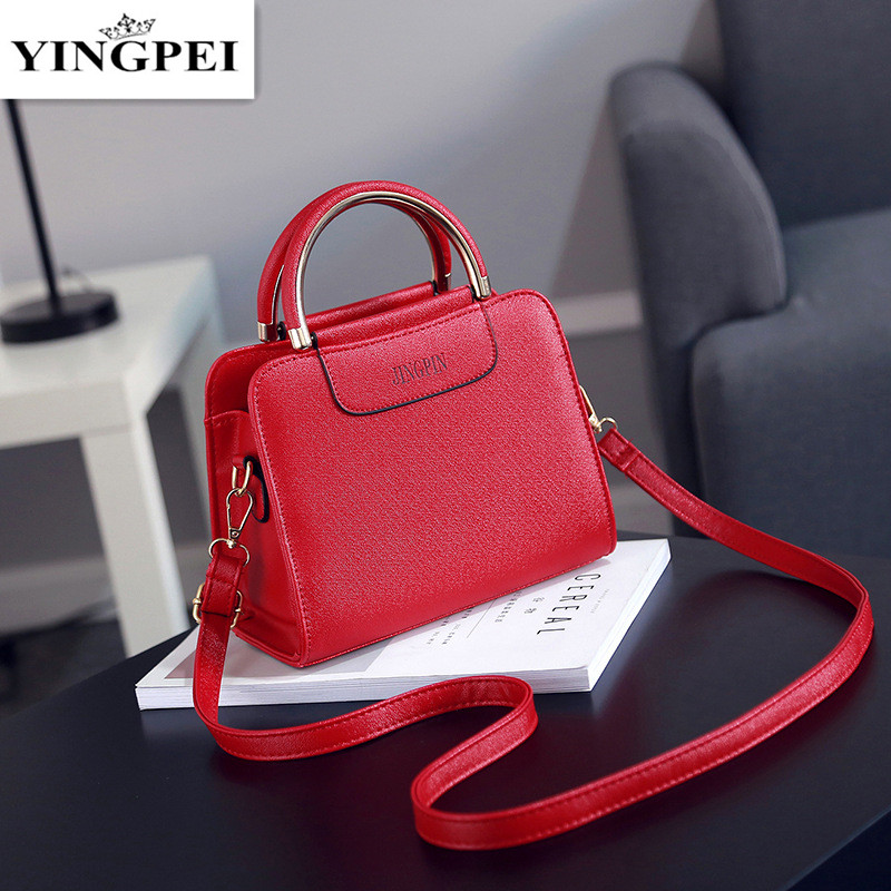 YINGPEI Shoulder Bag Famous Brand High Quality Woman Mini Messenger Bags Women Small Tote Handbag With Crossbody Black high quality women messenger bags ladies tote shoulder bag woman brand leather handbag crossbody bag with lock designer bolsas