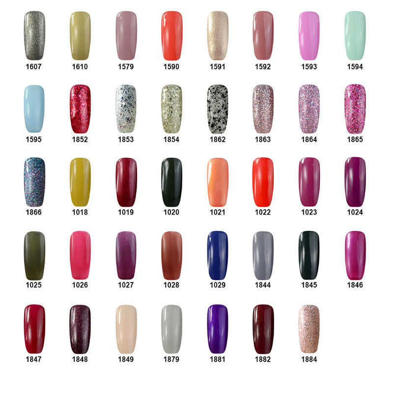 Ángel sonriente 236 Color Primer Gel esmalte de uñas UV LED remojo-off capa Base de uñas de larga duración barniz de arte manicura francesa 1875