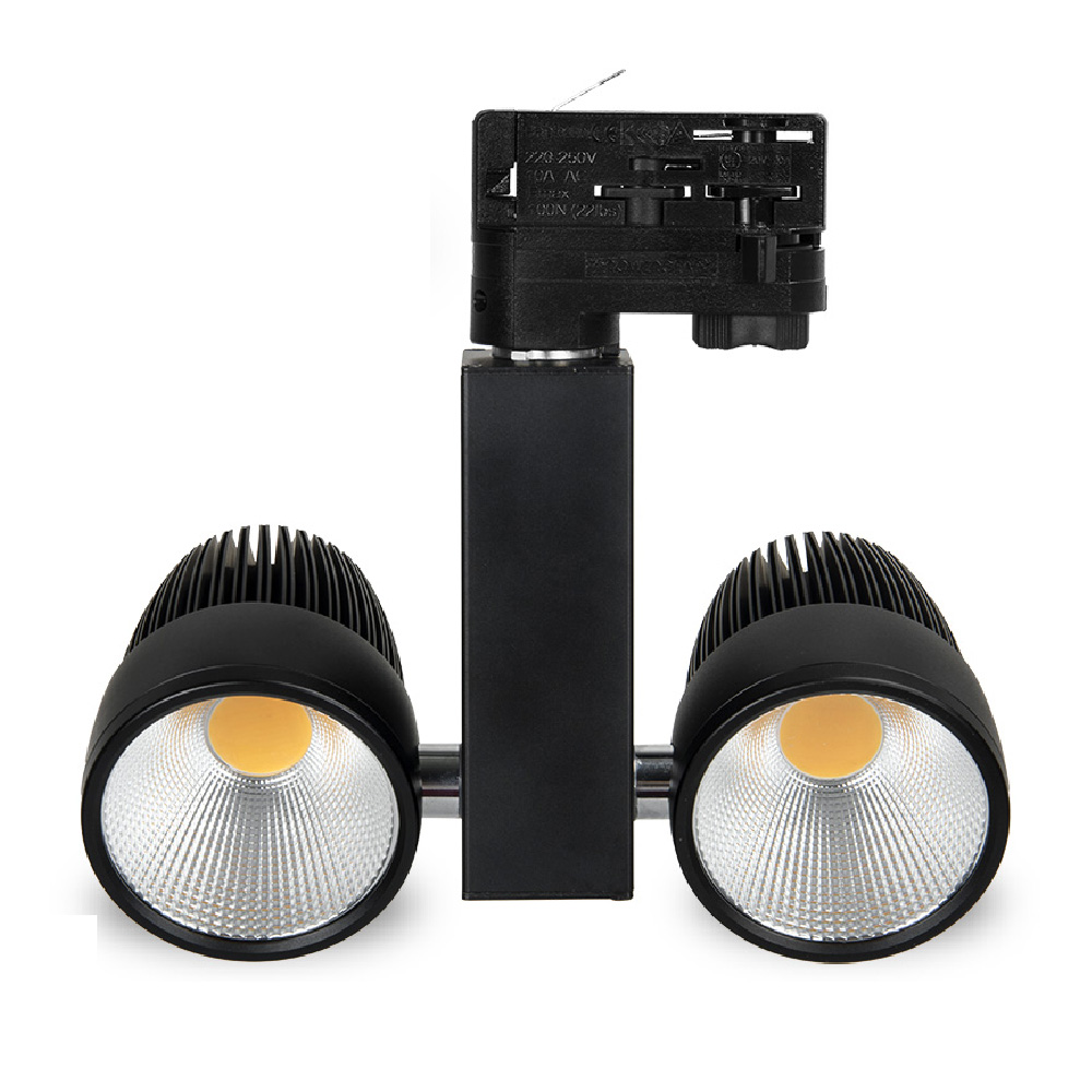 20w Led Dimmable: Dimmable Or Non Dimmable 130LM/W Bright 20W COB LED Track
