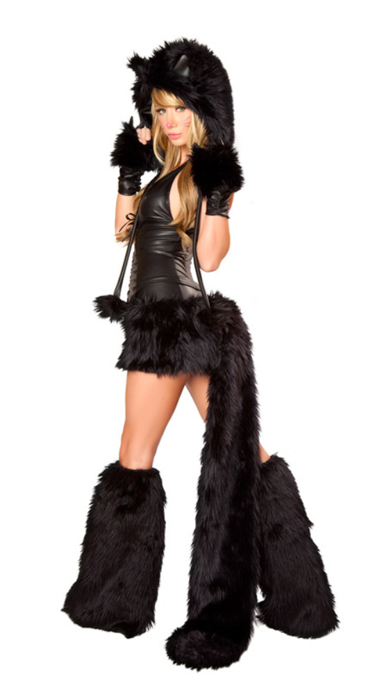 New Sexy Black Teddy Bear Costume for Adult cat girl Cosplay Costume Halloween Costumes for Women Fantasia Cosplay Fancy Dress on Aliexpress.com | Alibaba ...  sc 1 st  AliExpress.com & New Sexy Black Teddy Bear Costume for Adult cat girl Cosplay Costume ...