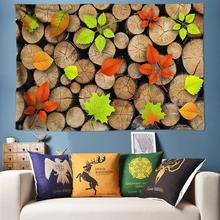 Wood Grain India Tapestry 3D Wall Hanging Flower Wall Tapestry Psychedelic Tapestry Wall Rug Art Wall Cloth Tapestries Large