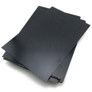 Image 2 - Новая прочная черная пластина из АБС пластика, плоская пластина, толщина 0,5 мм, 1 шт.