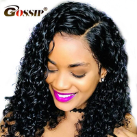 180% Density Full Lace Wigs Human Hair With Baby Hair Remy Brazilian Hair Water Wave Wig Pre Plucked Glueless Full Lace Wigs