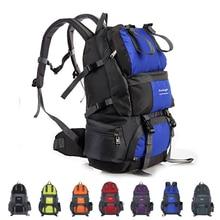 50L Waterproof Nylon Outdoor Travel Backpack Rucksack Sport Bag Mountaineering Camping Hiking Trekking Backpack Mochila цена в Москве и Питере