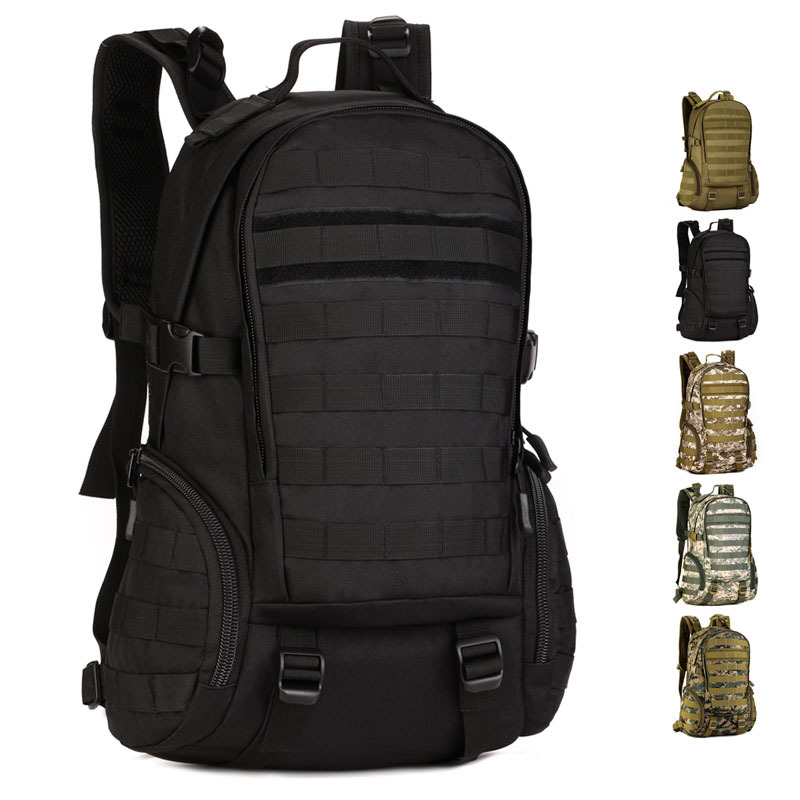 Military Army Tactical Backpack 14 Laptop Backpack Outdoor Sports Bag Male Travelling Hiking Camping Fishing Hunting Rucksack 60l nylon 900d outdoor sports army fans tactical backpack camping cycling hiking climbing rucksack military hunting sports bag