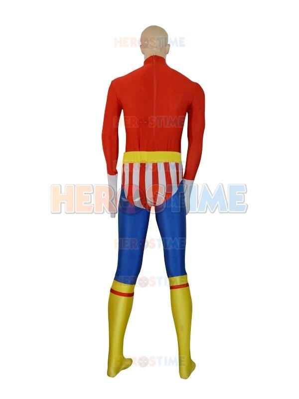 Envío gratis el más nuevo traje de superhéroe Spandex multicolor - Disfraces - foto 4