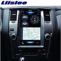 Liislee 2 din Android For Nissan Patrol Big Screen Car Multimedia Player GPS Navigation Video Radio mirror link