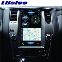 Liislee 2 din Android For Nissan Patrol Big Screen Car Multimedia Player GPS Navigation Video Radio mirror link Carplay