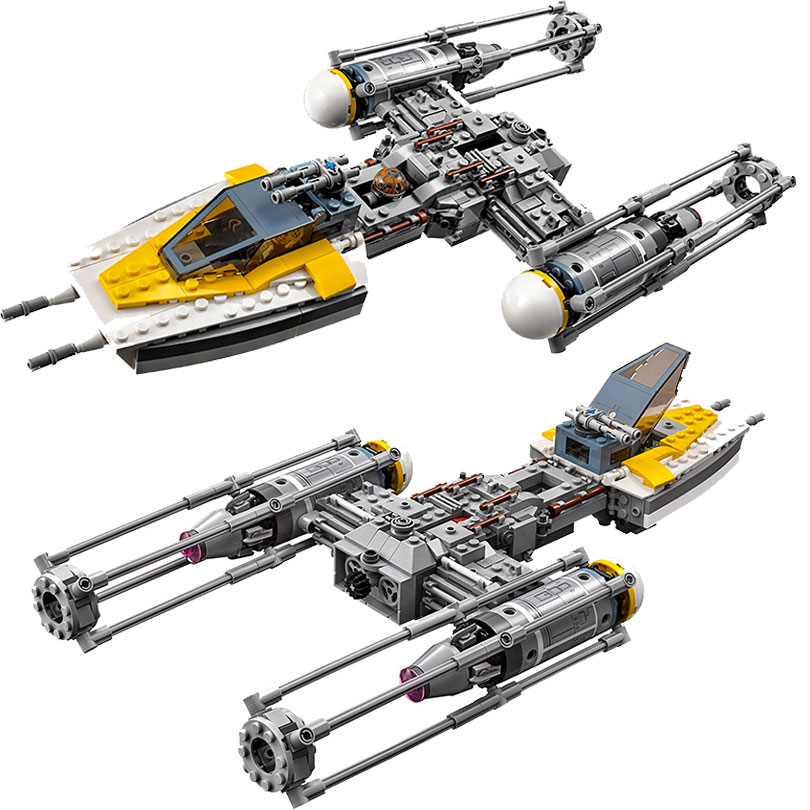 05065 Star Wars Y Wing Starfighter Building Blocks Bricks Toys Kids Gift Compatible with Legoings Star Series Wars Movie