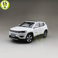 1/18 Jeep Compass Fiat Chrysler Diecast Metal Car Suv Model Collection Gift