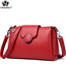 Fashion Shoulder Bag for Women 2019 High Quality Leather Crossbody Bags for Women Luxury Handbags Women Bags Designer Sac A Main стоимость