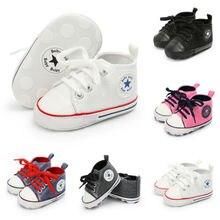 Милый, для новорожденных и малышей обувь для мальчиков, на мягкой подошве обувь для младенцев Нескользящие кроссовки ходунков