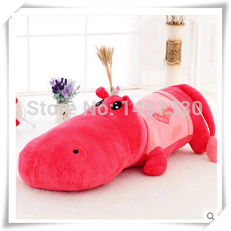 Hippo Pillow Giant Stuffed Animal Bed Mattress Plush Toys For Children Star Toy Christmas Valentine Day Birthday Gift In Animals