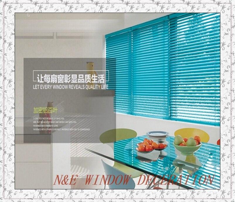 Freies Verschiffen Billig Aluminium Jalousien Fr Wohnzimmer Und Schlafzimmer Mit Stahl Kopfschiene UnterschieneChina
