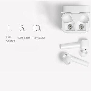 Image 4 - Xiaomi Airdots Pro หูฟังบลูทูธชุดหูฟังสเตอริโอ ANC สวิทช์ ENC หยุดอัตโนมัติควบคุมหูฟังไร้สาย
