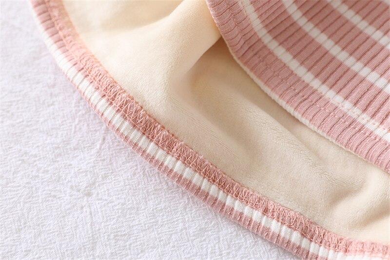 Plus Size M-2XL Mulheres Camisetas Outono Coreano