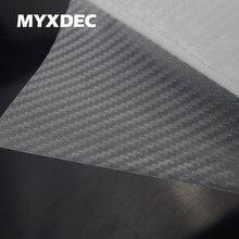 127*30 cm 3d pellúcido fibra de carbono vinil adesivo de carro folha de envolvimento de fibra de carbono transparente decoração do carro adesivo estilo do carro