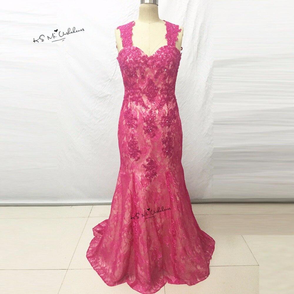 Tienda Online Verde Encaje vestido de noche modesto Vestidos de ...