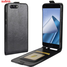 For Asus Zenfone 4 ZE554KL Case Cover Original Leather Case Protective Shell Funda For Asus ZE554KL ZE 554KL Flip Cases смартфон asus zenfone 4 ze554kl black 90az01k1 m01210