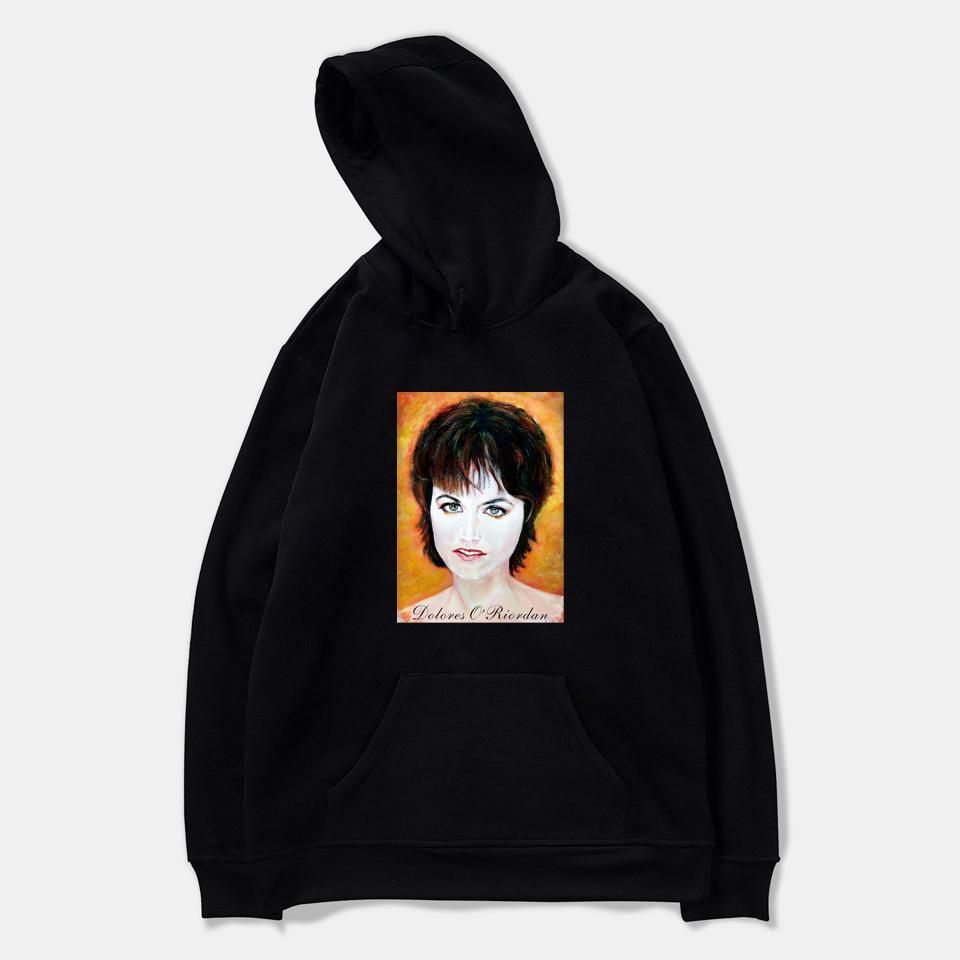 The Cranberries Dolores ORiordan R.I.P. Women Sweatshirts Hoodie Harajuku Casual Hoodie Men/Women Printing Clothes
