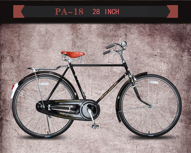phoenix bike 26 inch 28 inch vintage rod brake bike traditional