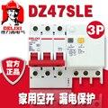 Автоматический выключатель DELIXI RCBO RCD DZ47LE DZ47sLE 3P 6A 10A 16A 20A 25A 32A 40A 50A 63A 100A 125A