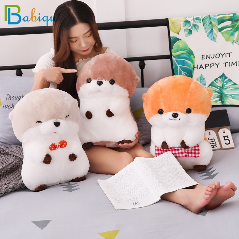 1pc 30/40cm New Sea Otter Plush Toy Stuffed Cute Animal Otter Dolls Baby Kids Appease Toys Soft Pillow Christmas Gift For Girls