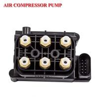 Air Suspension Pump Valve Block For Audi Q7 VW Tourareg Porsche Cayenne Paramera Jeep Grand Cherokee 7L0698014 95535890300