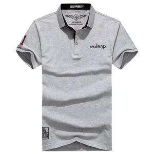 Image 4 - Polo de algodón de marca de alta calidad para hombre, camiseta informal lisa, camisa, polos para hombre