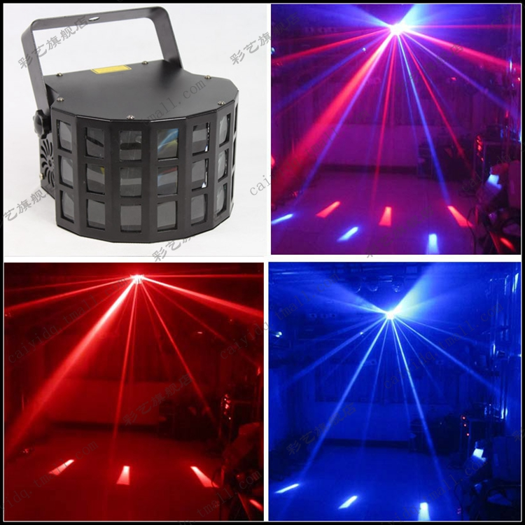 New Nuevo 12W 4 in 1 RGBW Alto LED Efectos Luces LED Mini Derby Effects Lighting