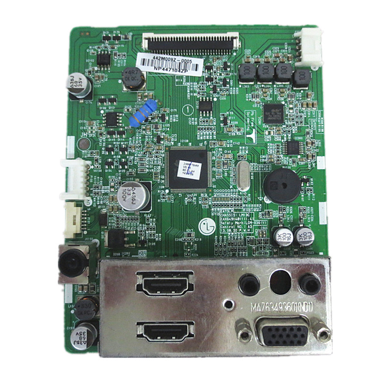Driver board For 24MP76HM 27MP76HM Good Working Tested dhl ems used for sch neider vx5a1hd22n4 power driver board tested