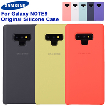 Original Samsung Silicone Cover Phone for Note9 Note 9 Silky and Soft -touch finish note case