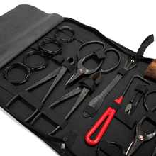High Quality bonsai tools set multi-function bonsai kit 14 - piece set Carbon Steel Shear Set and Tool Kit /Roll Wires