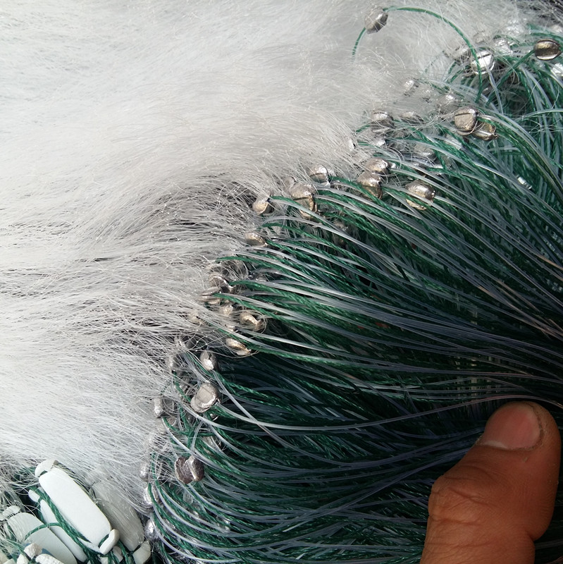Fishing Net 30M * 1.2M&30M*1.5M Monofilament Fishing Small fish Gill Net with Float Rede De Pesca Fishing Tackle Length 30M