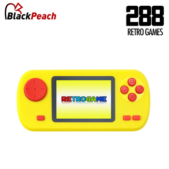 Video Game Console Mini Pocket Handheld Game Player Built-in 288 Classic Games Best Gift for Child Nostalgic Player