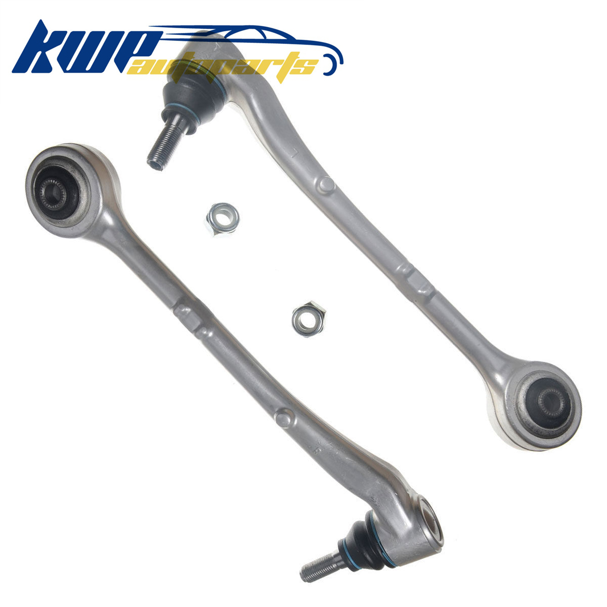 Front Pair of Lower Control Arms for BMW E38 740i 740iL 750iL 1995 1996 1997 1998 2001 #31121142087,31121142088